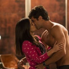 """Final """"Haja Coração"""": Shirlei (Sabrina Petraglia) e Felipe (Marcos Pitombo) namoram escondidos!"""