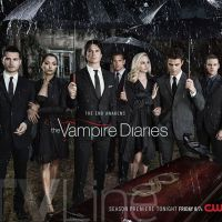 "De ""The Vampire Diaries"": na 8ª temporada, Damon, Bonnie e Stefan aparecem em enterro no novo cartaz"