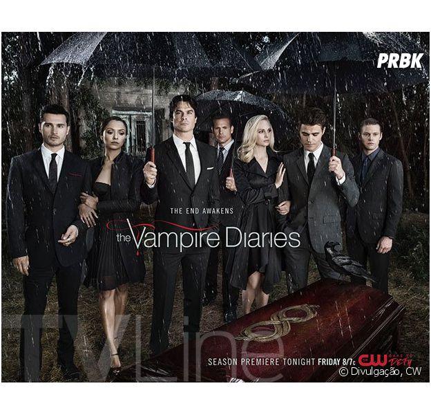 """Novo poster de """"The Vampire Diares"""""""