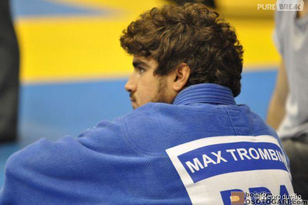 """Caio Castro interpreta o judoca Max, no filme """" A Grande Vitória"""""""