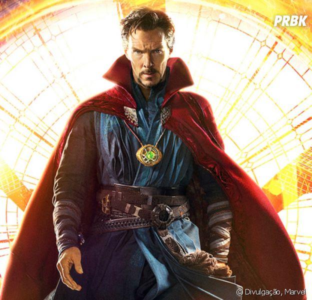 """Doutor Estranho (Benedict Cumberbatch) vai estar nos """"Vingadores 3"""""""
