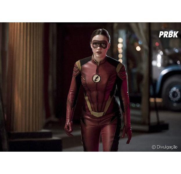 """Em """"The Flash"""" e """"Supergirl"""", crossover musical pode ter participação de Jesse Quick (Violett Beane)!"""
