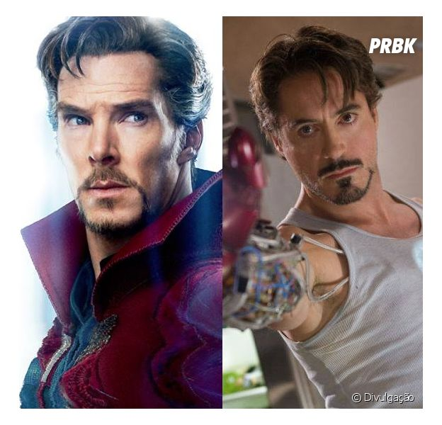 Será que Doutor Estranho e Homem de Ferro são mesmo parecidos?