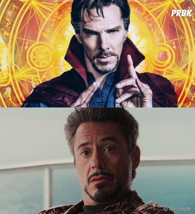 Semelhanças entre Doutor Estranho e Homem de Ferro