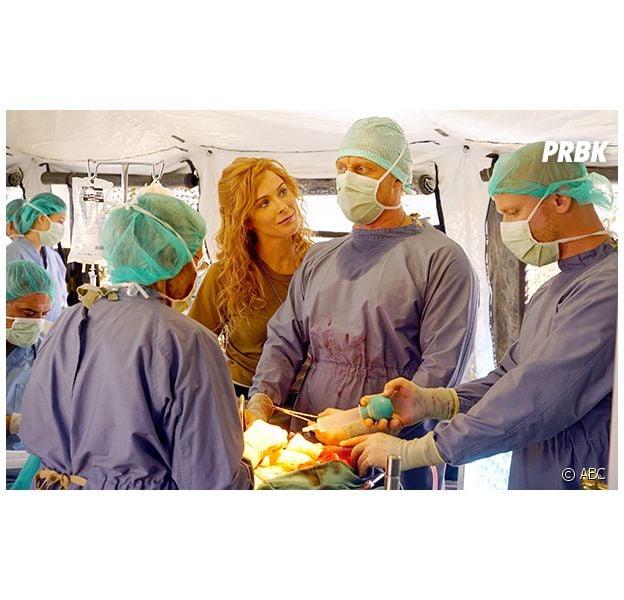"""Megan (Bridget Regan), irmã de Owen em """"Greys Anatony"""", aparece na série pela 1ª vez"""