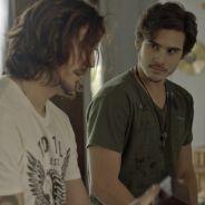 """De """"Rock Story"""": Zac (Nicolas Prattes) ameaça contar caso de Diana e Léo Regis a Guilherme Santiago"""