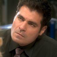 """Novela """"A Lei do Amor"""": Ciro (Thiago Lacerda) é acusado pela morte de Isabela (Alice Wegmann)"""
