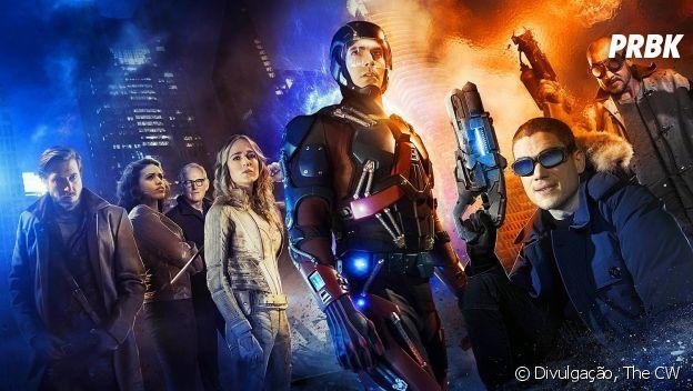 """Em """"Legends of Tomorrow"""", """"Arrow"""", """"The Flash"""" e """"Supergirl"""", crossover terá grandes batalhas!"""