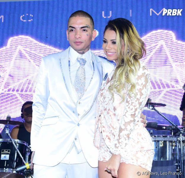 """MC Guime e Lexa na festa de comemoração do álbum """"Sou Filho da Lua"""""""