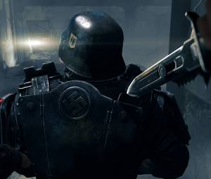 """O clima sombrio de """"Wolfenstein: The New Order"""" pode ser visto até mesmo na farda dos soldados nazistas"""