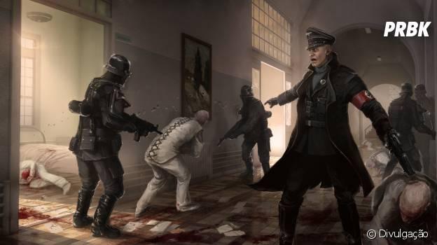 """Um mundo submetido aos nazistas após segunda guerra mundial em """"Wolfenstein: The New Order"""""""