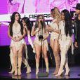 A girl band Fifth Harmony levou o prêmio de Colaboração do Ano no American Music Awards 2016
