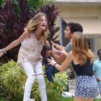 """Em """"Malhação"""": Sofia faz um escândalo e diz que está grávida no meio da rua!"""