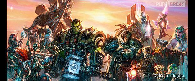 "Os herróis de ""World Of Warcraft"""