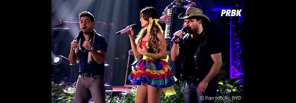 A dupla Zezé Di Camargo e Luciano fazem participação especial no novo DVD de Paula Fernandes
