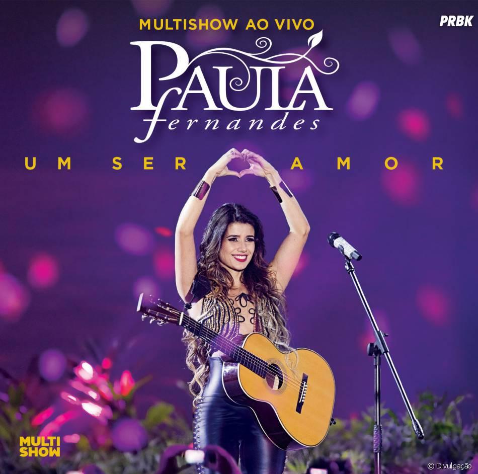 """Paula Fernandes divulga seu segundo DVD """"Multishow Ao Vivo – Paula Fernandes – Um ser Amor"""""""