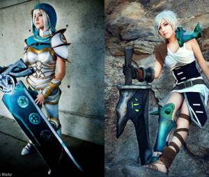 """League Of Legends"": Cosplay Riven e Riven"
