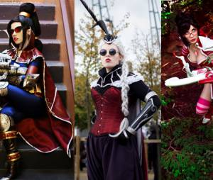 """League Of Legends"": Cosplay Vayne, Vayne Aristocrata e Vayne Cupida Imortal"