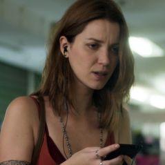 """Em """"Rock Story"""", Júlia (Nathalia Dill) desmascara Alex (Caio Paduan) e destrói planos do traficante"""