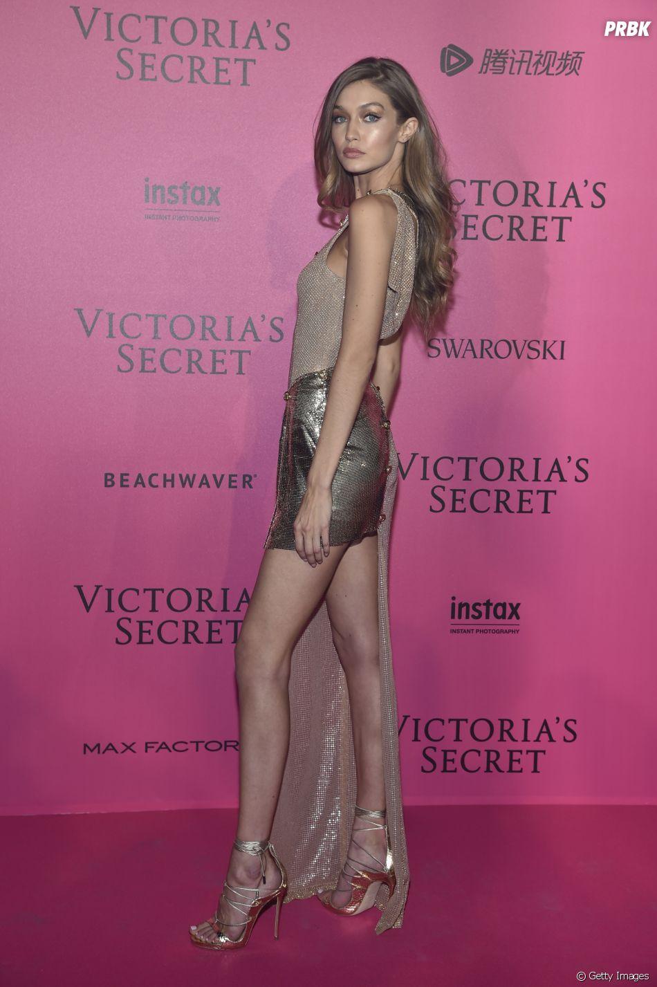 Gigi Hadid no Victoria's Secret Fashion Show 2016: festa promovida após desfile conta com presença da modelo