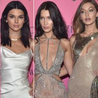 Kendall Jenner, Gigi Hadid e Bella Hadid no Victoria's Secret Fashion Show: modelos brilham em festa