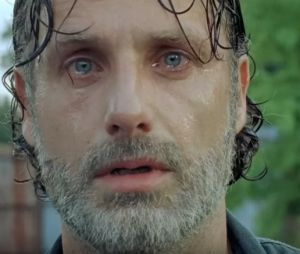 "Em ""The Walking Dead"": trailer mostra Lucille ensanguentada e Rick (Andrew Lincoln) chora!"