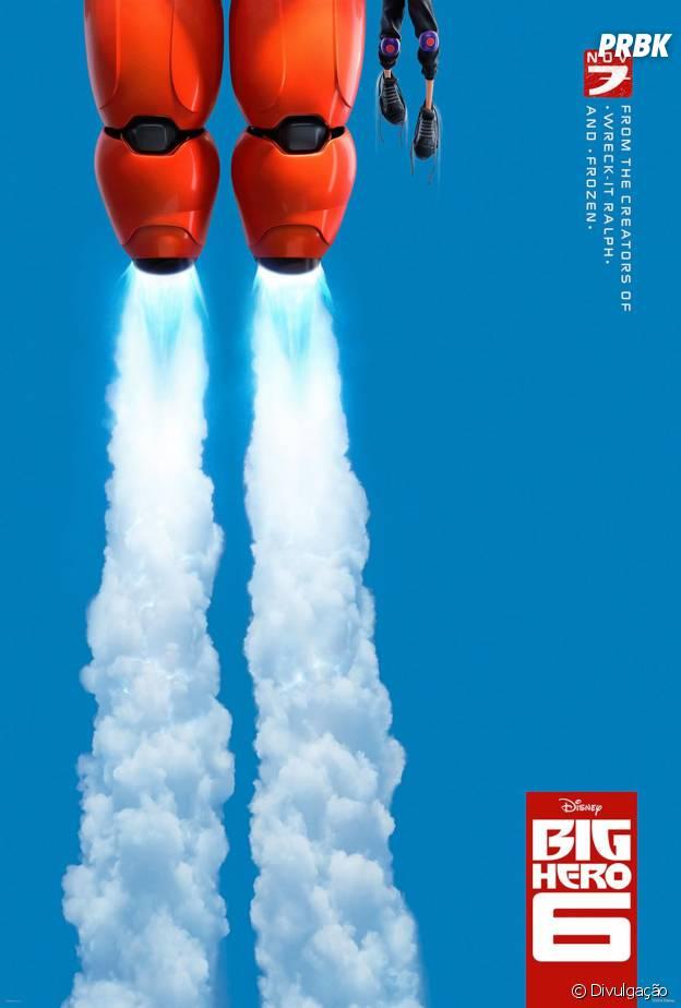 Cartaz Big Hero 6