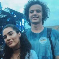 Lívian Aragão assume namoro com o músico José Marcos à revista!
