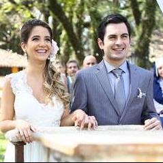 """De """"Carinha de Anjo"""": Beatriz (Ana Vitória Bastos) e Ricardo (Rodolfo Valente) se casam!"""