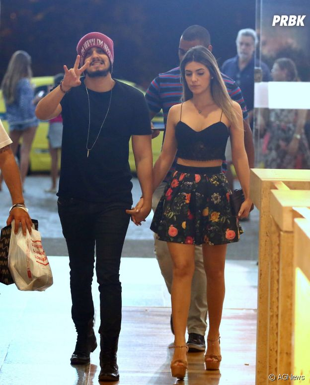Luan Santana e Jade Magalhães reataram namoro, segundo assessoria