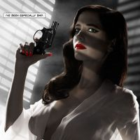 "Cartaz de ""Sin City 2"" foi censurado nos EUA por causa de ""nudez"" de Eva Green"