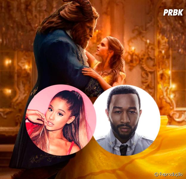 """Ariana Grande em """"A Bela e a Fera""""? Cantora deve participar da trilha sonora do filme em dueto com John Legend"""