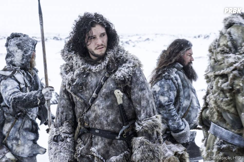 "Jon Snow (Kit Harington) vai ter um desafio em ""Game of Thrones"""
