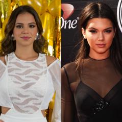 Bruna Marquezine e Kendall Jenner, Maraisa e Kim Kardashian e mais artistas parecidos!