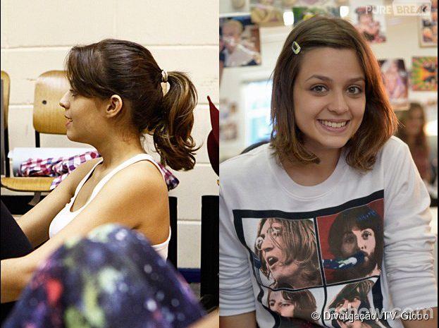 """<p>Maria Luiza teve o cabelo cortado na altura dos ombros para sua personagem de """"Malhação""""</p>"""