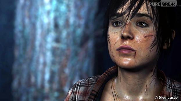 Shower beyond two souls Ellen Page