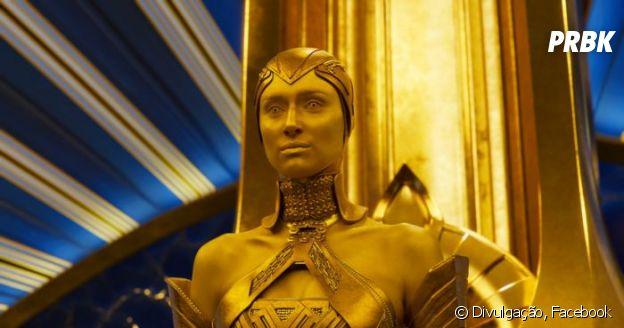 """De """"Guardiões da Galáxia 2"""":Ayesha (Elizabeth Debick) é a nova vilã"""