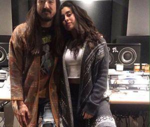 Lauren Jauregui anuncia parceria com Steve Aoki
