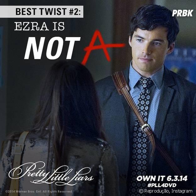 """Ezra (Ian Harding) não é """"-A"""" em """"Pretty Little Liars""""!"""