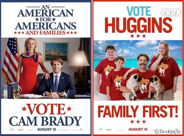 """A comédia """"Os Candidatos"""" brincou com campanhas de políticos"""