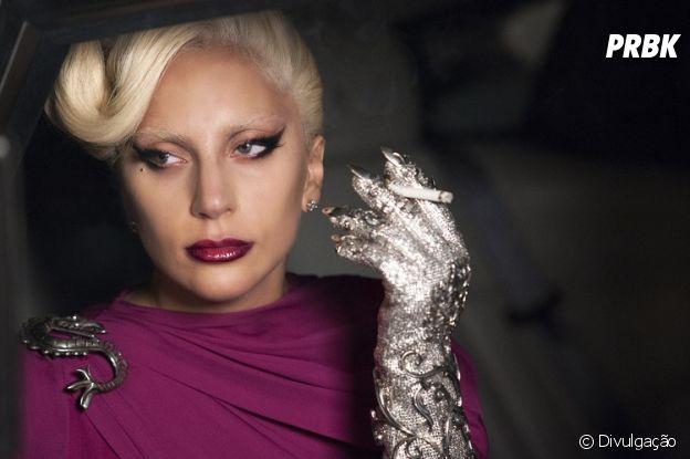 "Lady Gaga lacrando na quinta temporada de ""American Horror Story"""