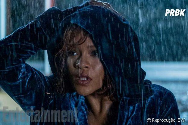 """Rihanna interpretando Marion Crane em """"Bates Motel"""""""