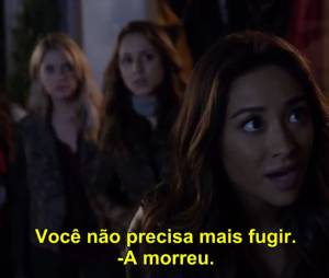 "As ""Liars"" convencem Alison (Sasha Pieterse) em ""Pretty Little Liars""!"