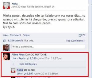 Xuxa e seus memes