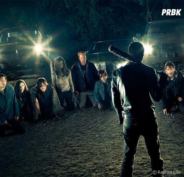 """""""The Walking Dead"""" promete dar o que falar no último episódio da sétima temporada!"""