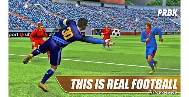 """Colecione jogadores em """"Real Football 2013"""""""