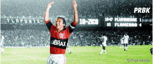 """""""Zico"""" narra a carreira do craque do Flamengo"""