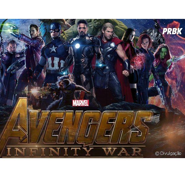 """Parece que """"Os Vingadores: Guerra Infinita"""" vai ter muita ação, hein!"""