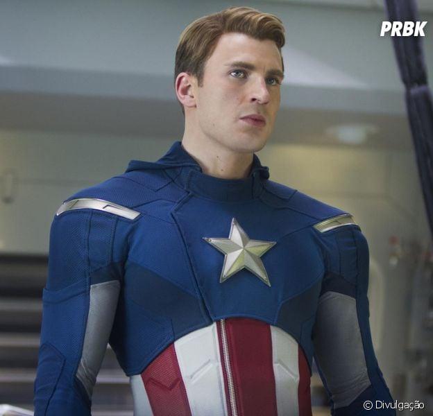 """Em """"Capitão América"""", Chris Evans deu vida e realidade ao personagem dos quadrinhos"""