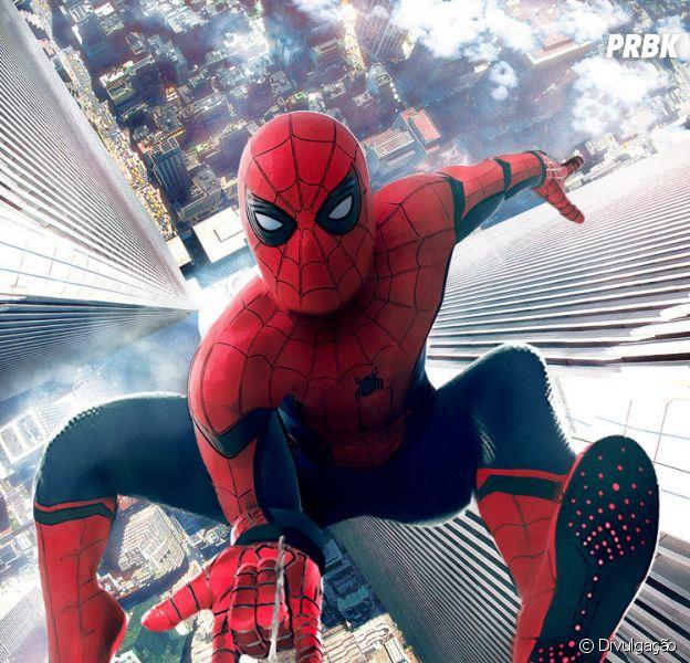 """De """"Homem-Aranha: De Volta Ao Lar"""": Tom Holland virá ao Brasil para divulgar o filme"""